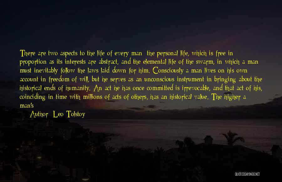 Account Quotes By Leo Tolstoy