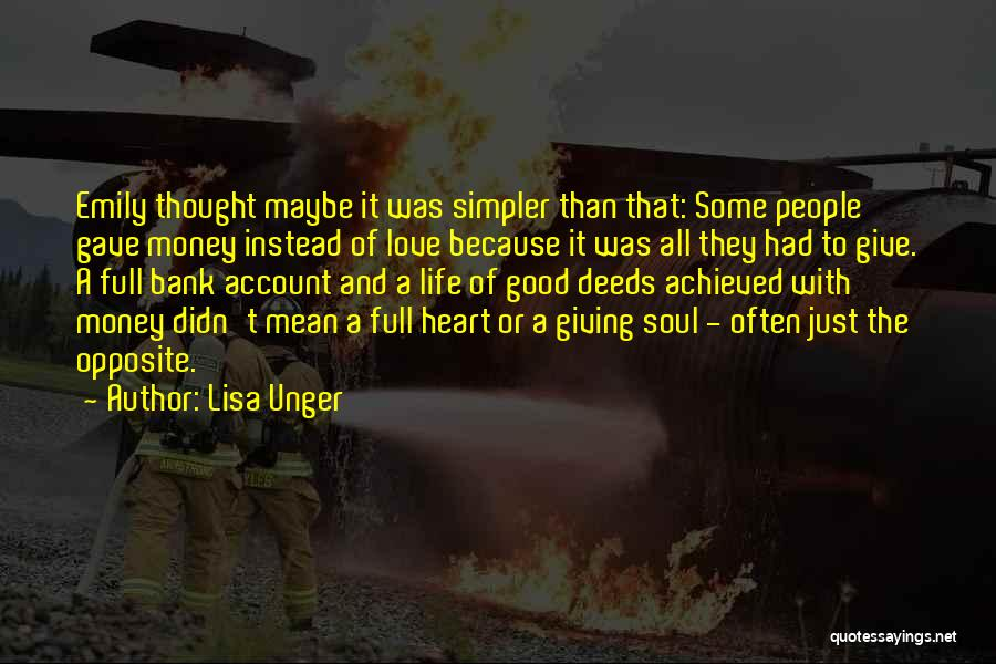 Account Quotes By Lisa Unger