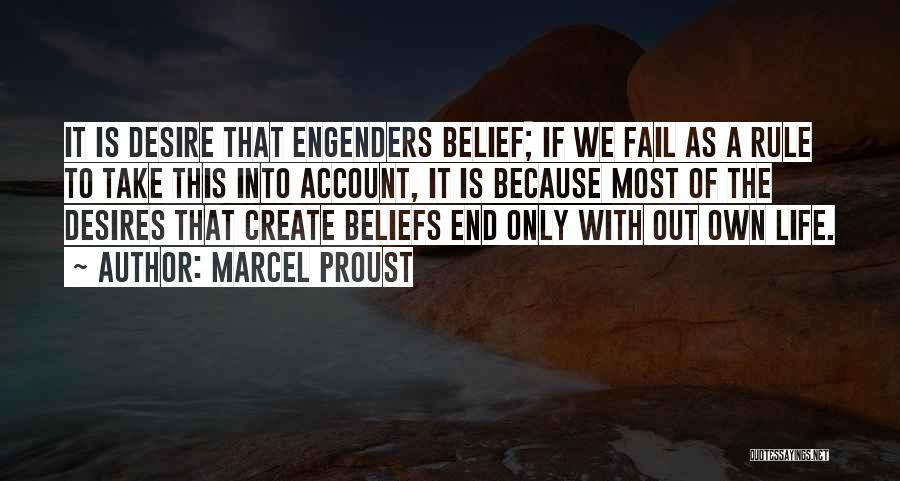Account Quotes By Marcel Proust
