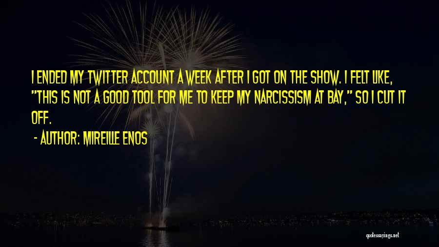 Account Quotes By Mireille Enos