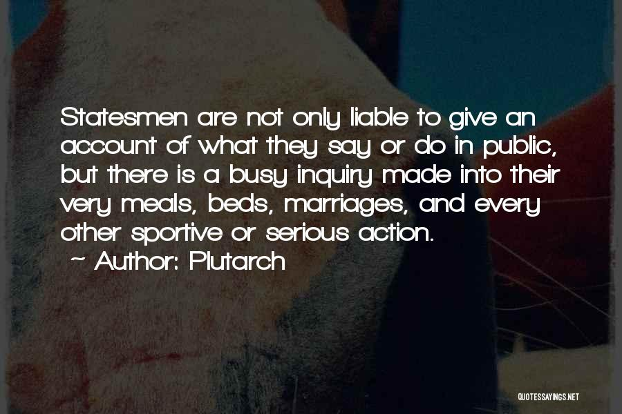 Account Quotes By Plutarch