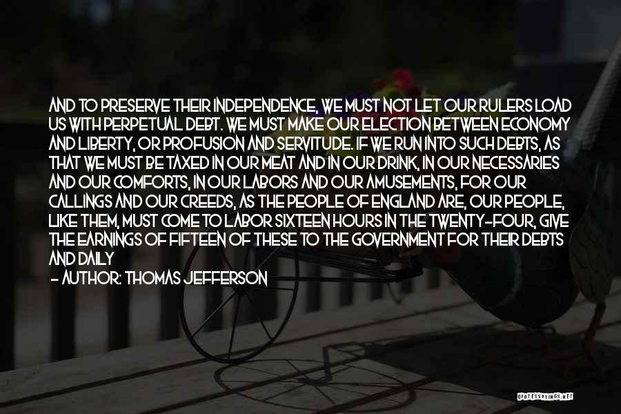 Account Quotes By Thomas Jefferson