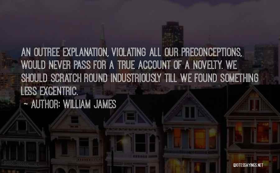 Account Quotes By William James