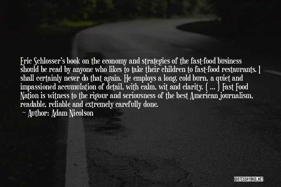 Accumulation Quotes By Adam Nicolson