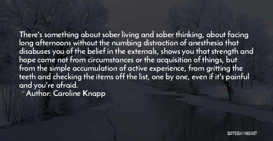 Accumulation Quotes By Caroline Knapp