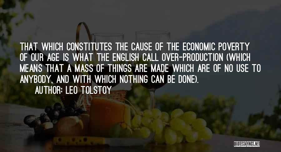Accumulation Quotes By Leo Tolstoy