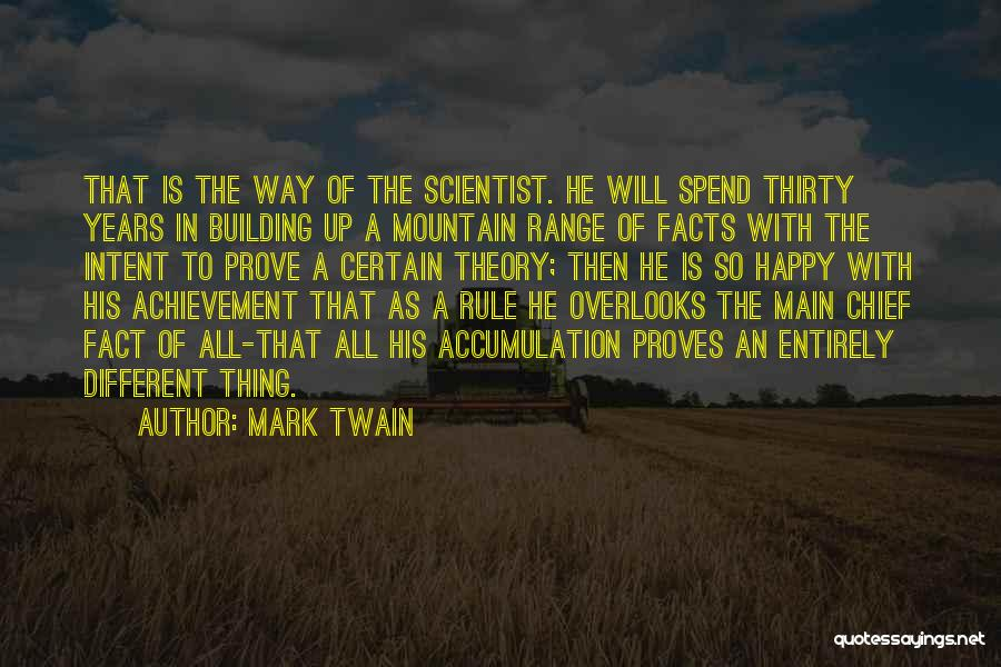 Accumulation Quotes By Mark Twain