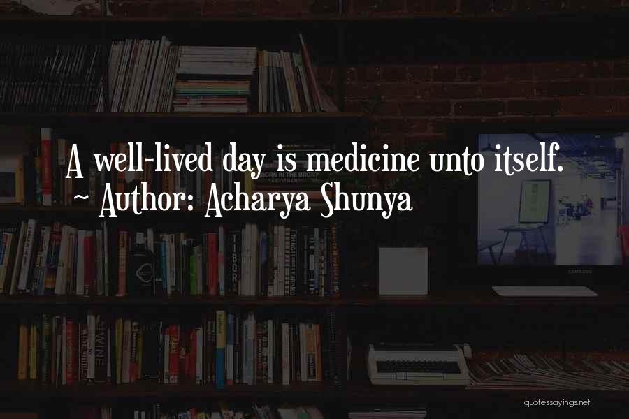 Acharya Shunya Quotes 493606