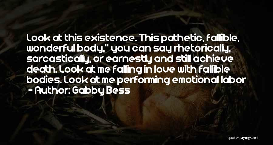 Achieve Love Quotes By Gabby Bess