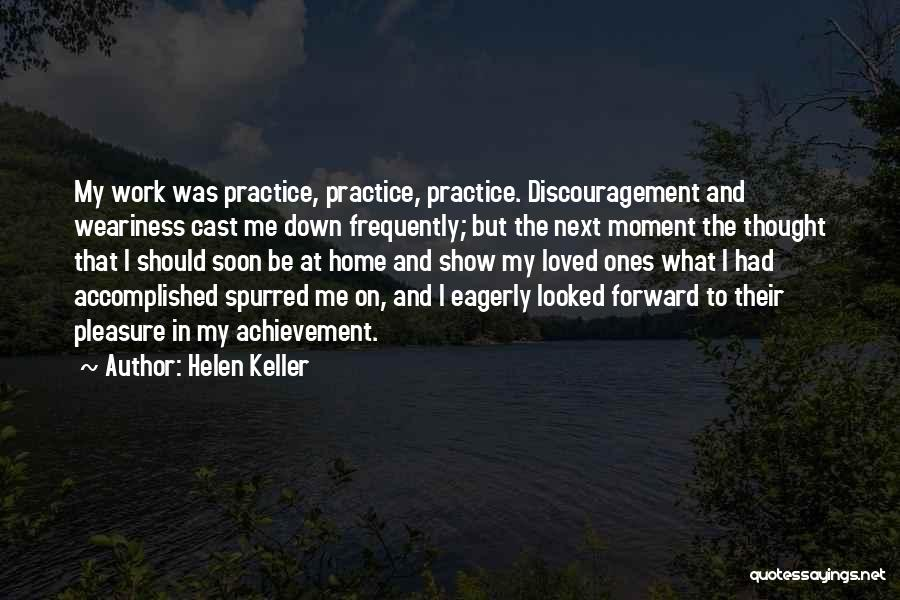 Achievement At Work Quotes By Helen Keller