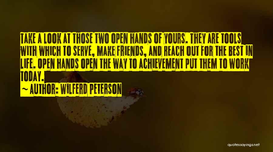 Achievement At Work Quotes By Wilferd Peterson