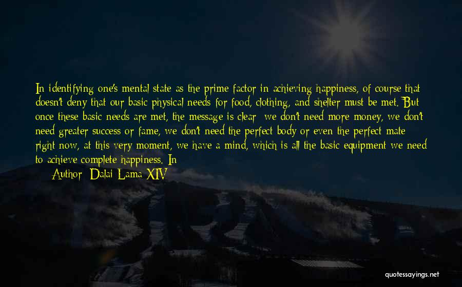 Achieving Happiness Quotes By Dalai Lama XIV