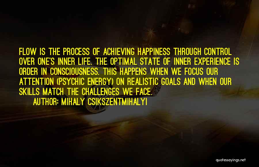 Achieving Happiness Quotes By Mihaly Csikszentmihalyi