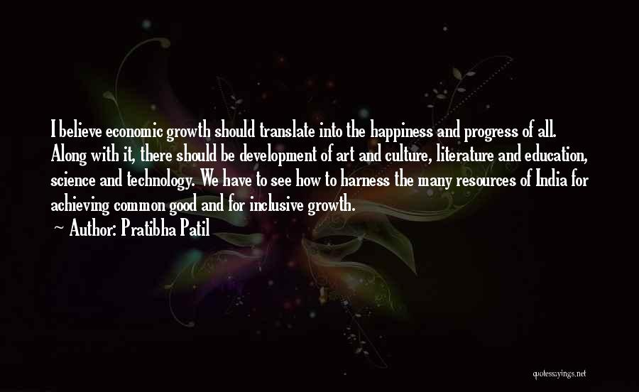 Achieving Happiness Quotes By Pratibha Patil
