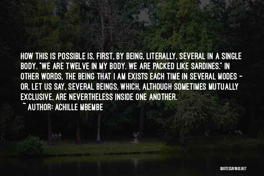 Achille Mbembe Quotes 1297981