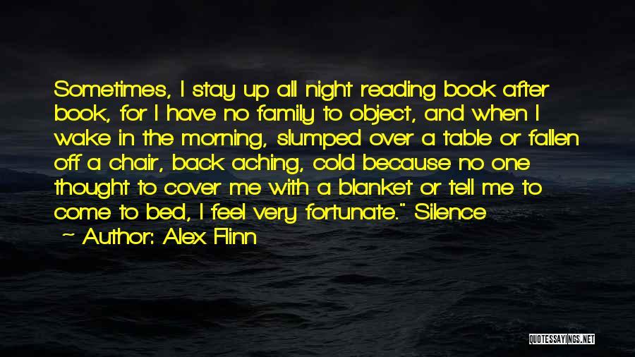 Aching Back Quotes By Alex Flinn