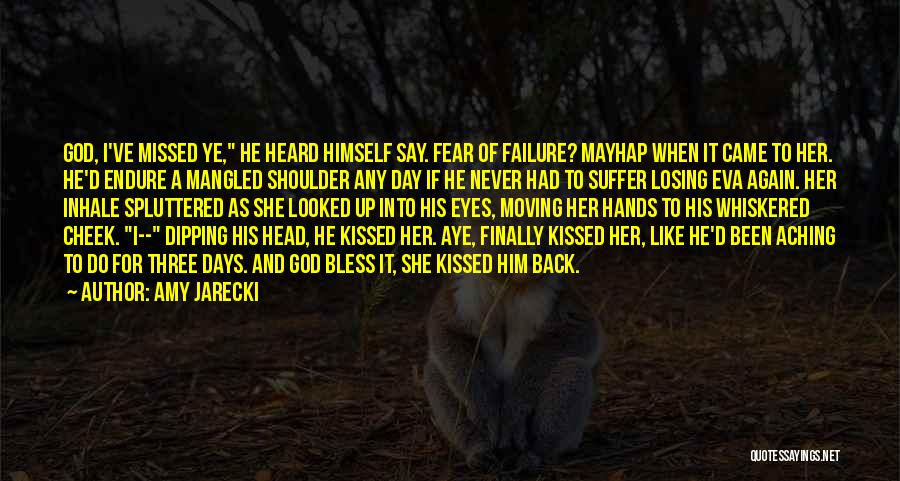 Aching Back Quotes By Amy Jarecki