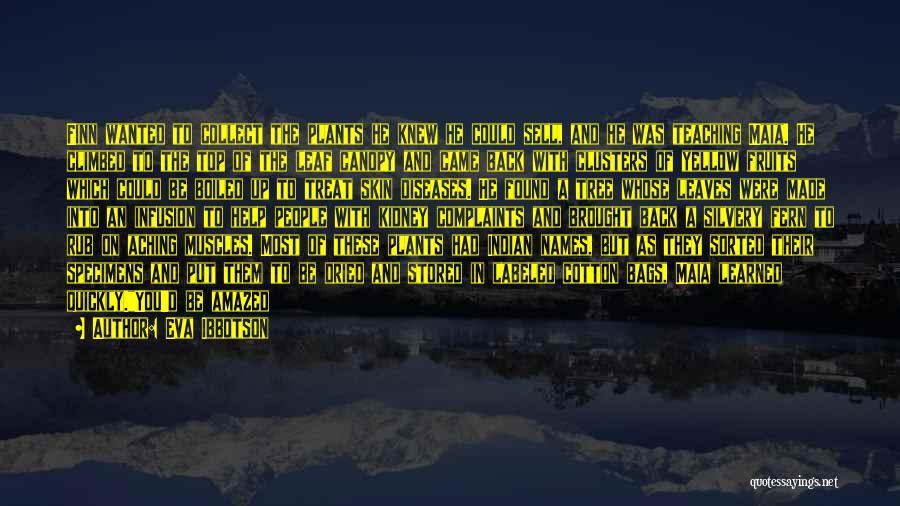 Aching Back Quotes By Eva Ibbotson