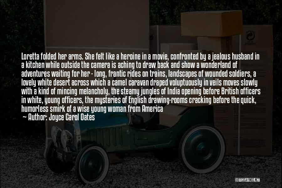 Aching Back Quotes By Joyce Carol Oates