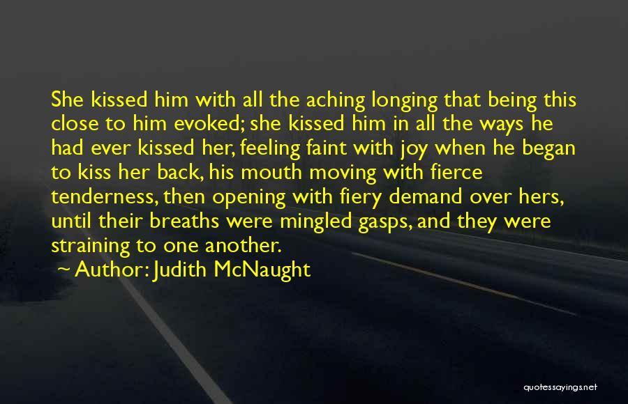 Aching Back Quotes By Judith McNaught