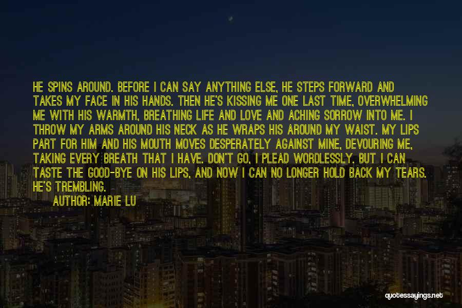 Aching Back Quotes By Marie Lu