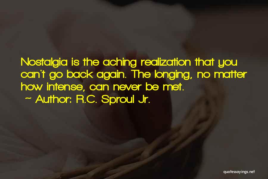 Aching Back Quotes By R.C. Sproul Jr.