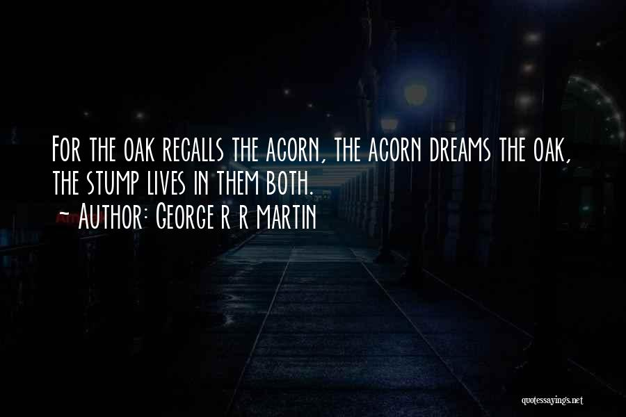 Acorn Quotes By George R R Martin