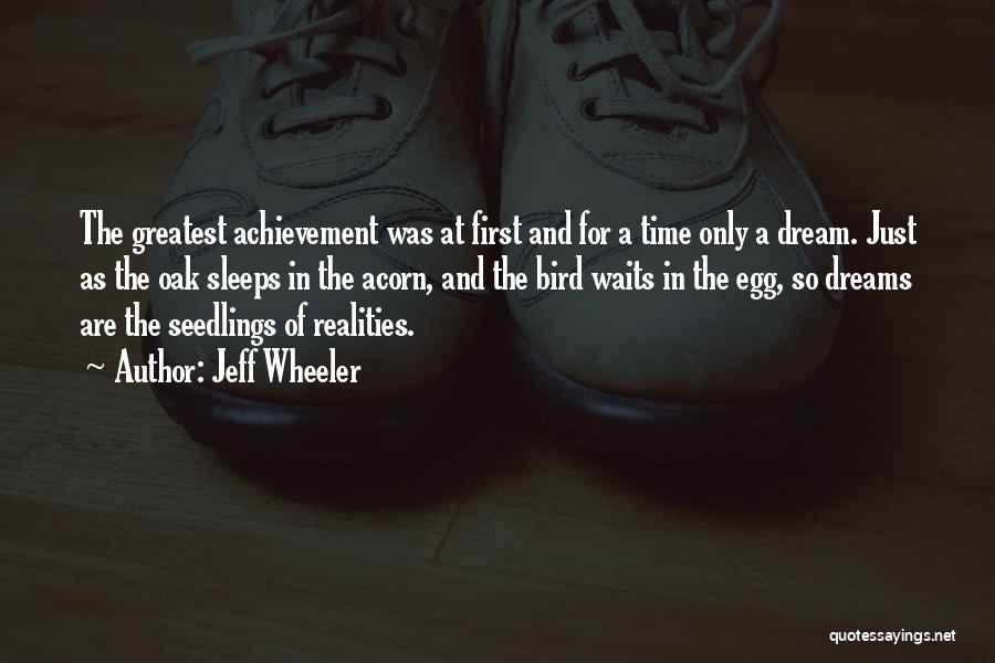 Acorn Quotes By Jeff Wheeler
