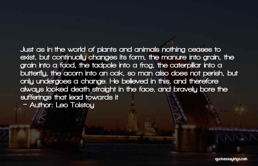 Acorn Quotes By Leo Tolstoy