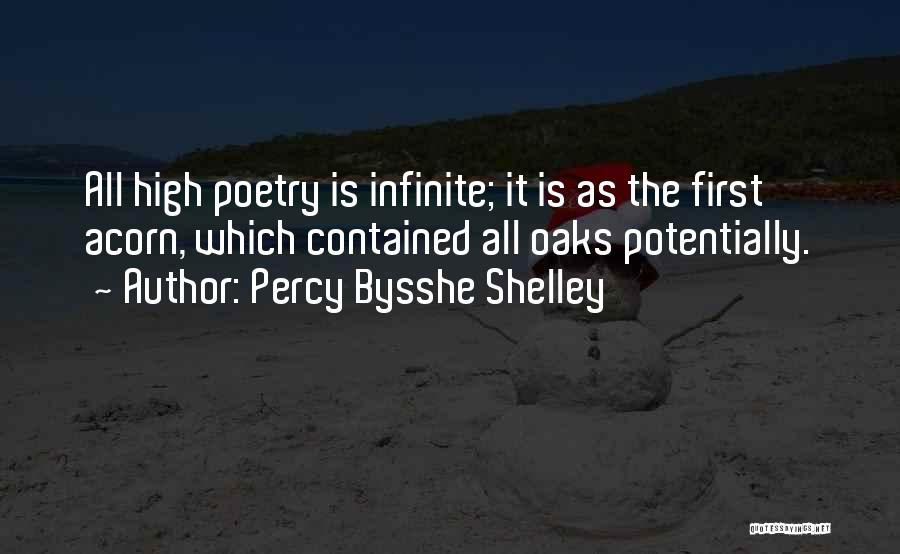 Acorn Quotes By Percy Bysshe Shelley