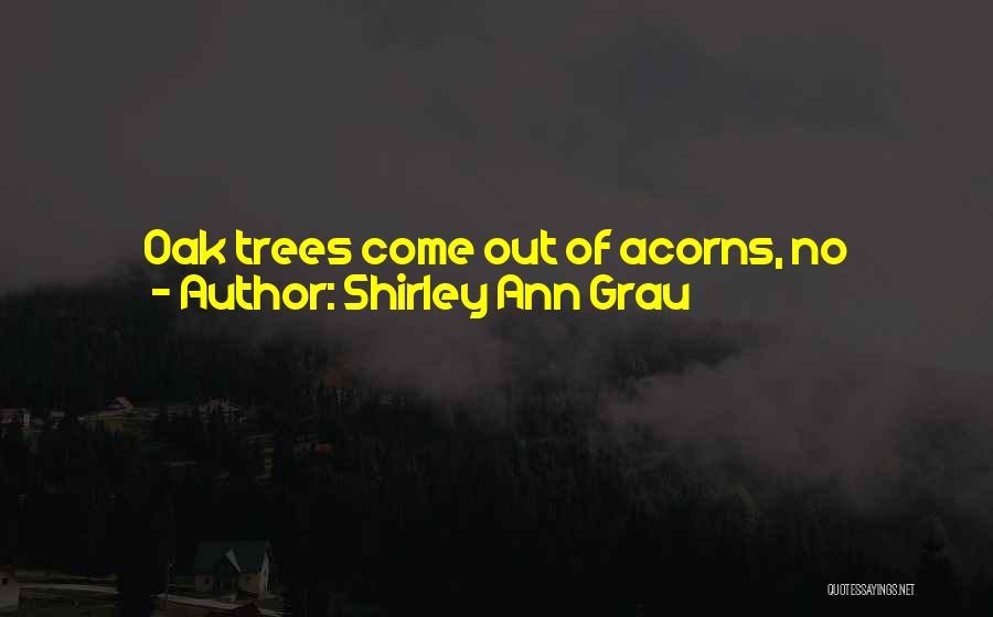Acorn Quotes By Shirley Ann Grau
