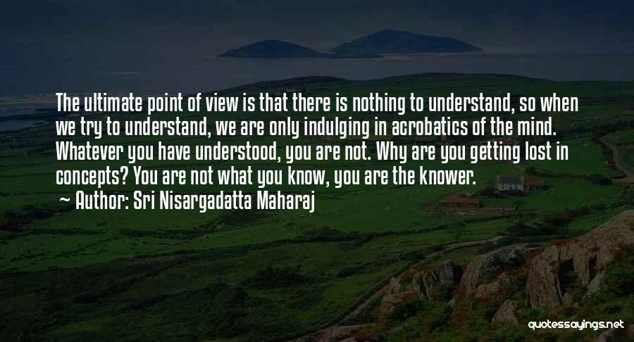 Acrobatics Quotes By Sri Nisargadatta Maharaj