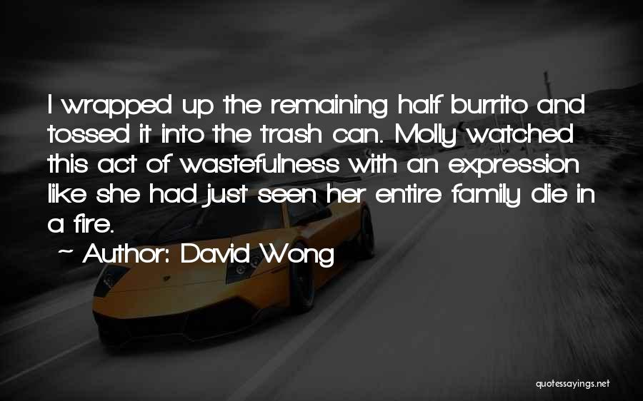 Act Like Family Quotes By David Wong