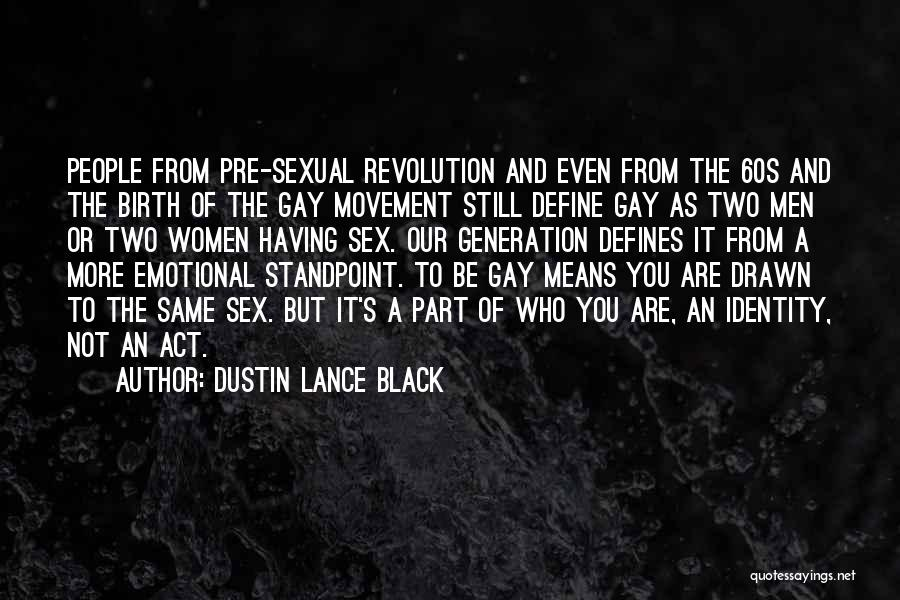 Act Now Motivational Quotes By Dustin Lance Black
