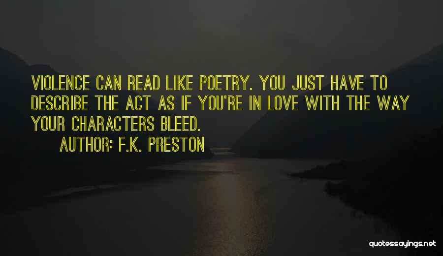 Act Now Motivational Quotes By F.K. Preston