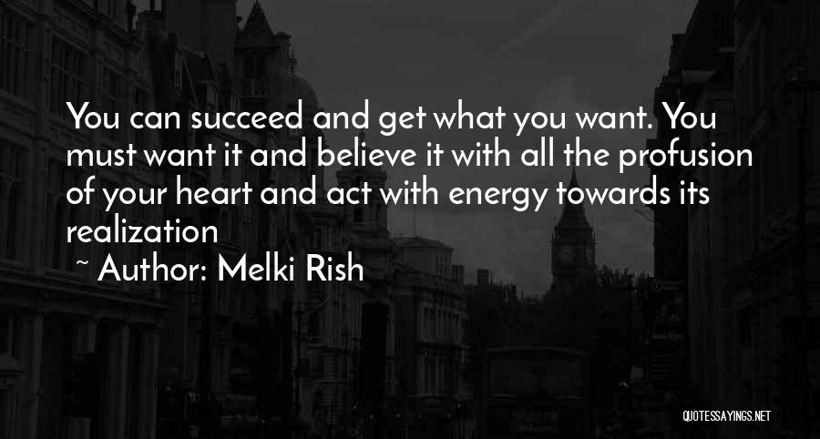 Act Now Motivational Quotes By Melki Rish