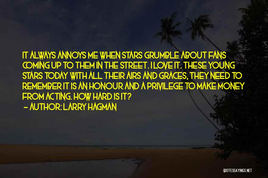 Acting Young Quotes By Larry Hagman