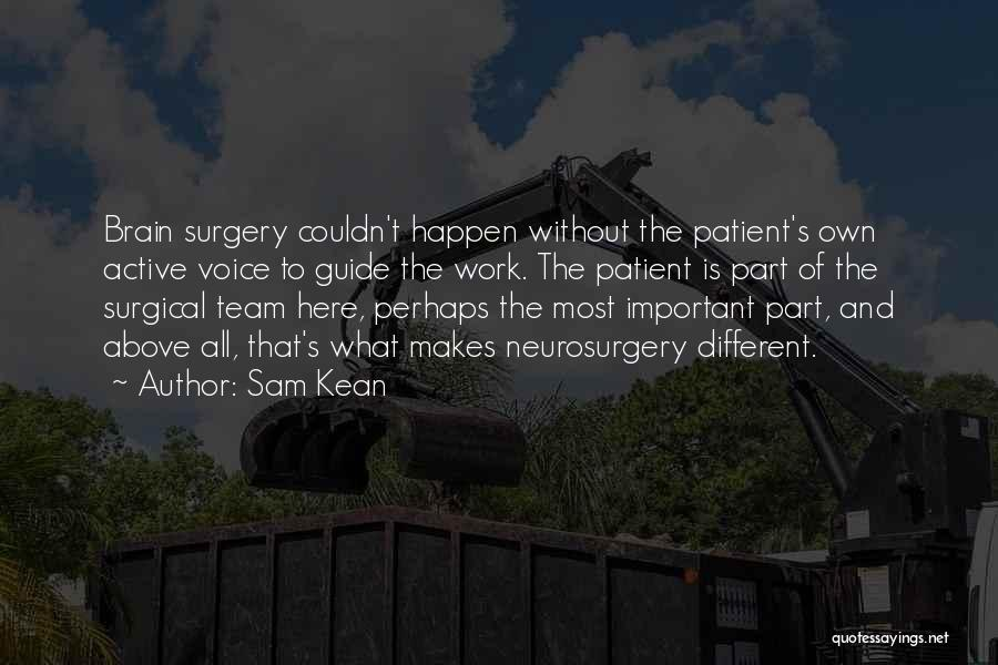 Active Voice Quotes By Sam Kean