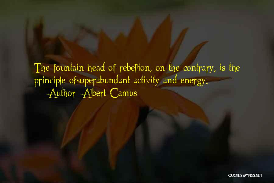 Activity Quotes By Albert Camus