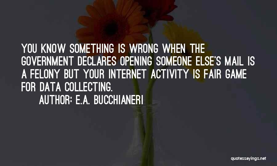 Activity Quotes By E.A. Bucchianeri