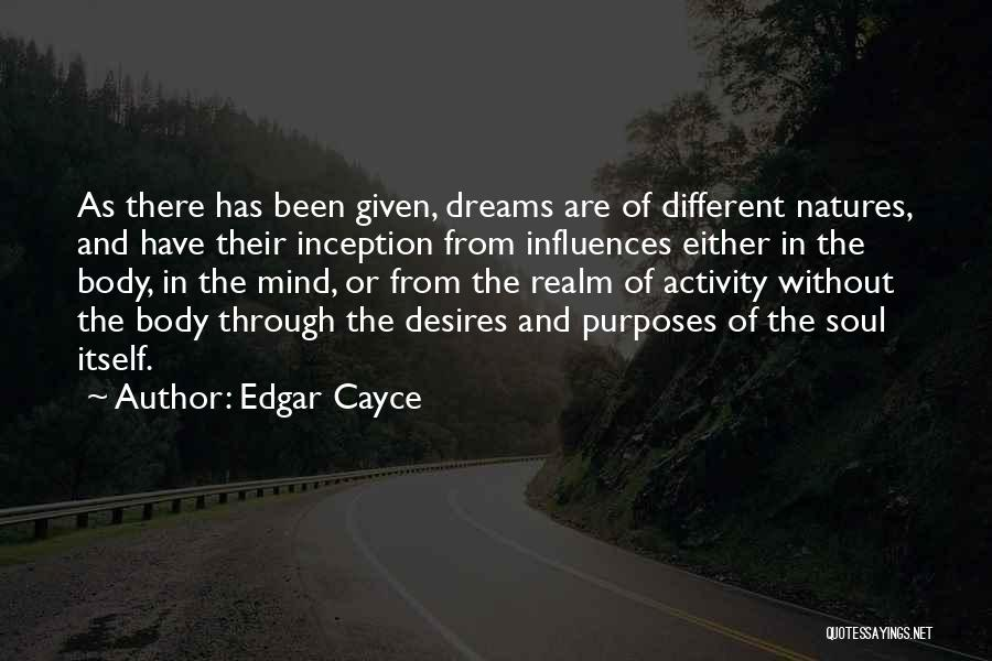 Activity Quotes By Edgar Cayce