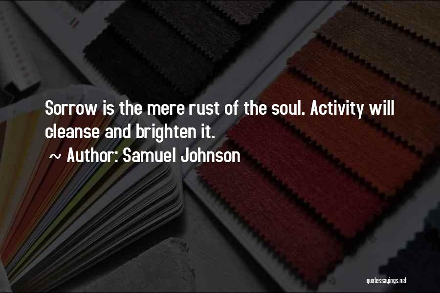 Activity Quotes By Samuel Johnson