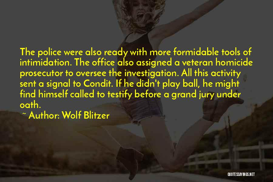 Activity Quotes By Wolf Blitzer