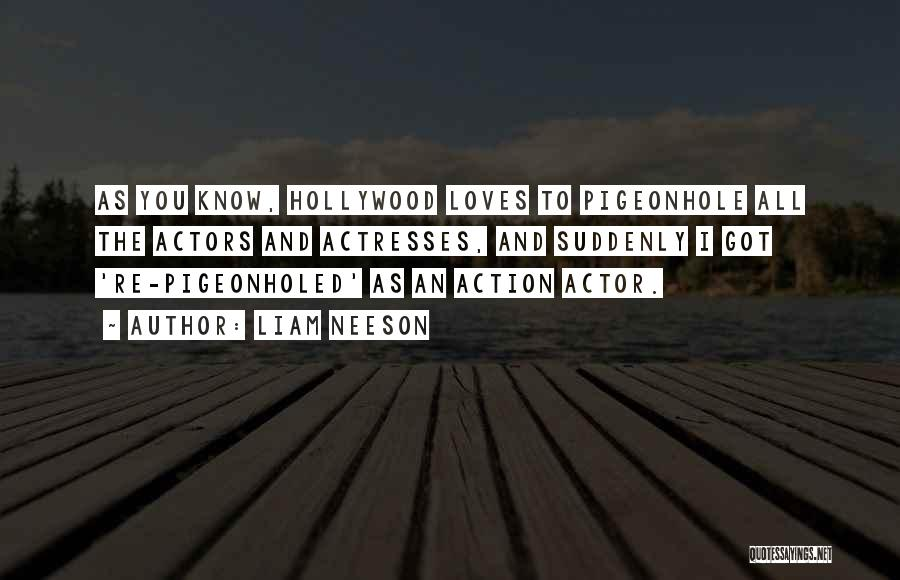 Actors And Actresses Quotes By Liam Neeson