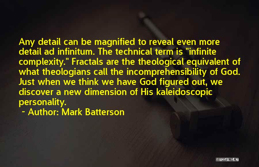 Ad Infinitum Quotes By Mark Batterson