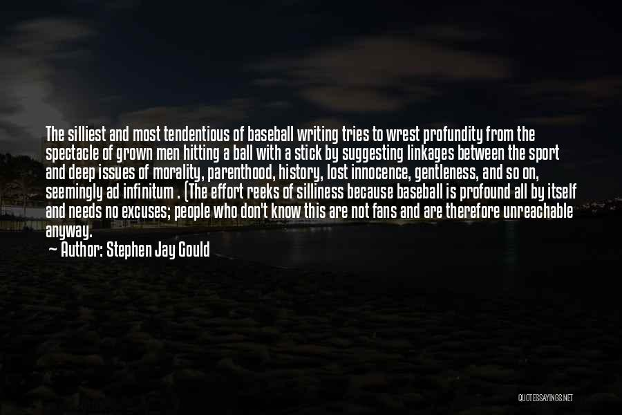 Ad Infinitum Quotes By Stephen Jay Gould