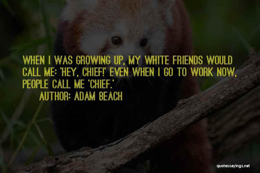 Adam Beach Quotes 1842847