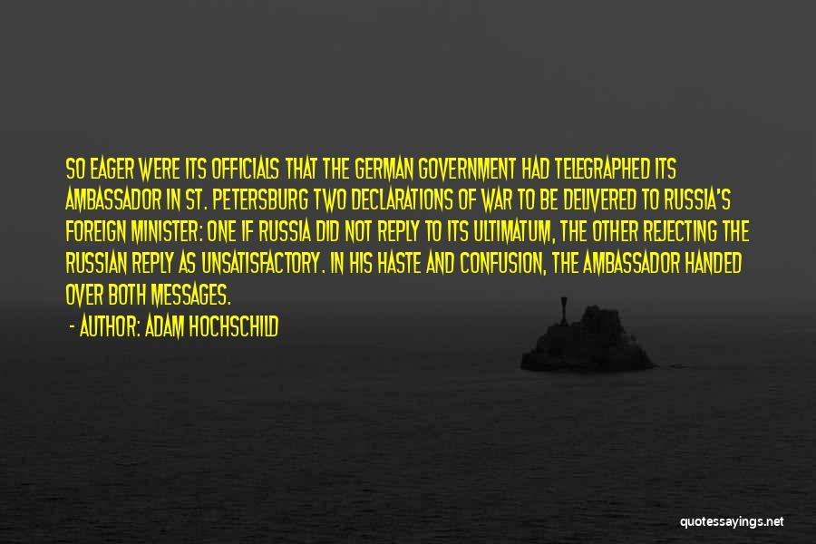 Adam Hochschild Quotes 1283860