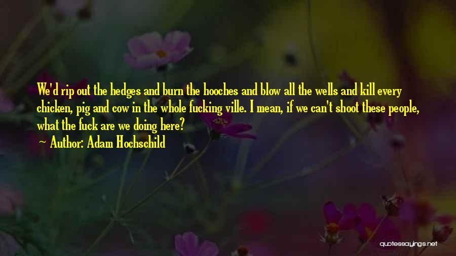 Adam Hochschild Quotes 899376
