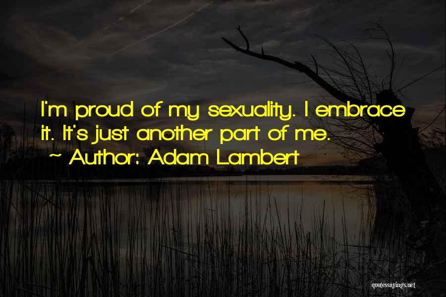 Adam Lambert Quotes 1332010